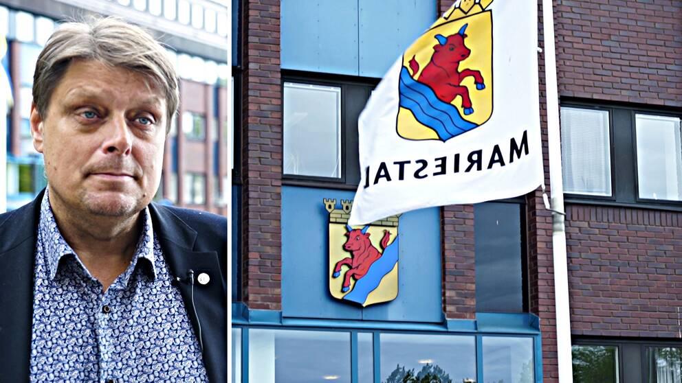Johan Abrahamsson (M), kommunalråd Mariestad