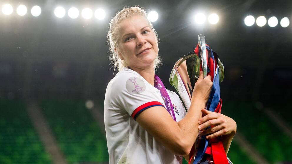 Ada Hegerberg saknar att spela för det norska landslaget.