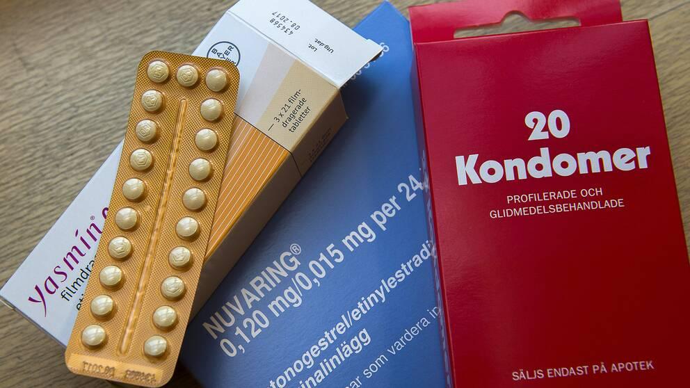 Preventivmedel som eventuellt kan komma att bytas ut mot en kräm. Arkivbild.