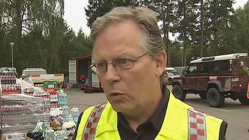 Räddningsledare Lars-Göran Uddholm.