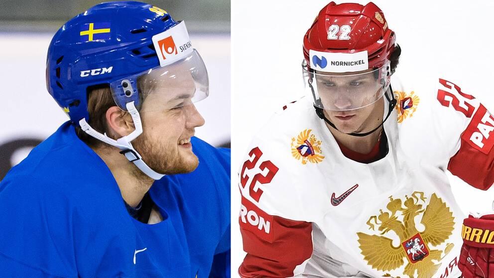 William Nylander och Nikita Zaitsev spelar tillsammans i Toronto.