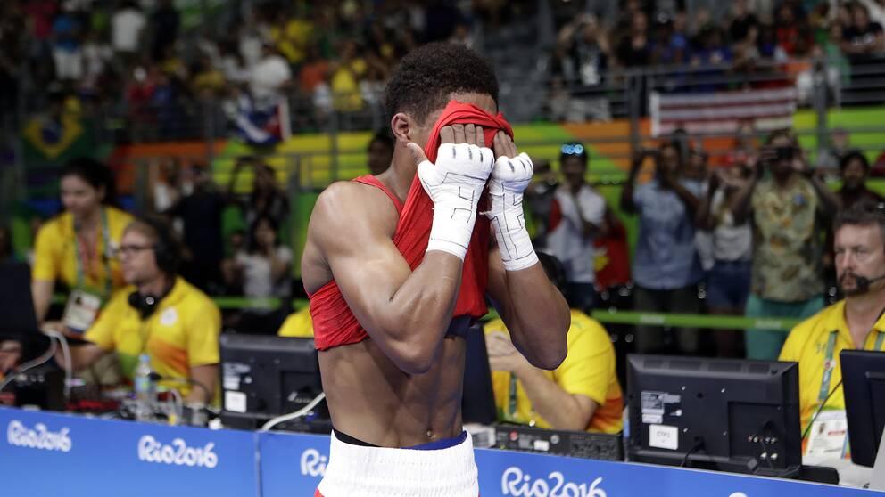 Shakur Stevenson under OS 2016.