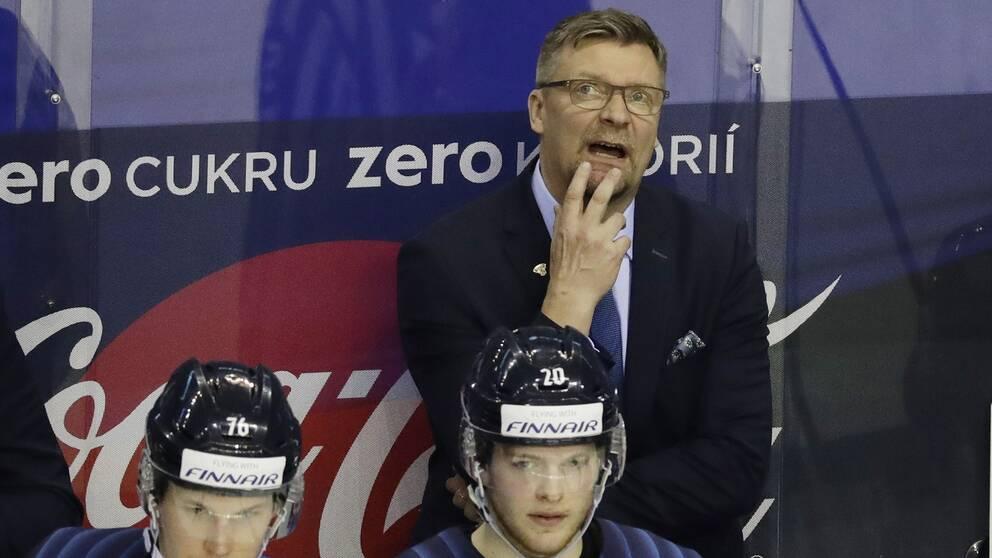 Jukka Jalonen var kritisk efter Finlands förlust.