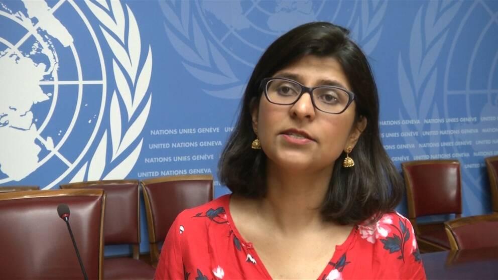 FN:s talesperson Ravina Shamdasani