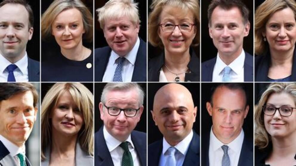 Ett antal högt uppsatta leadmöter i det konservativa partiet