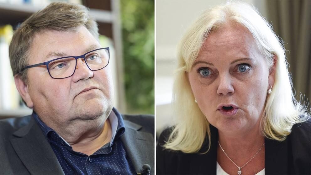 Peter Lundgren och Kristina Winberg.