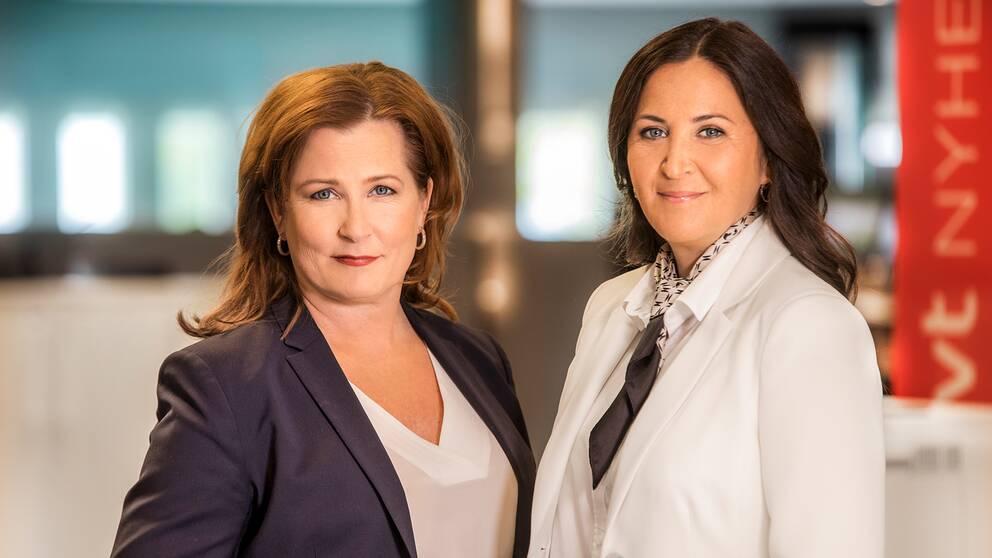 Programledare: Anna Hedenmo och Katia Elliott.