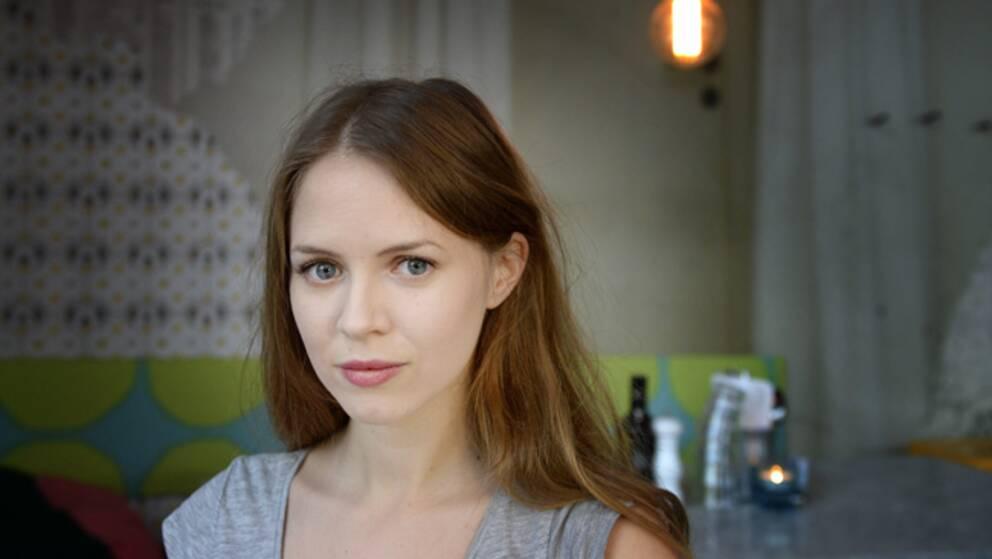 Regidebutanten Alexandra Dahlström.