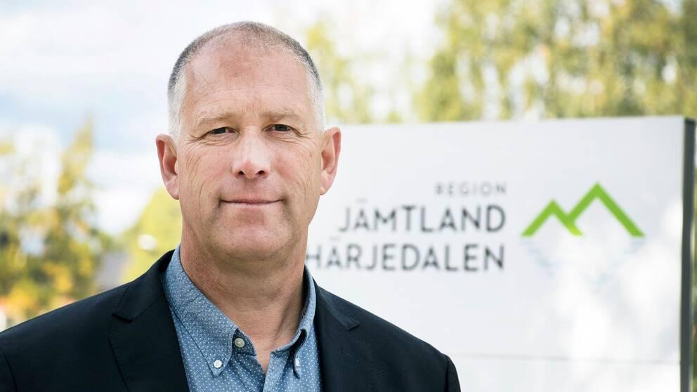 bild på Hans Svensson, regiondirektör i Region Jämtland Härjedalen