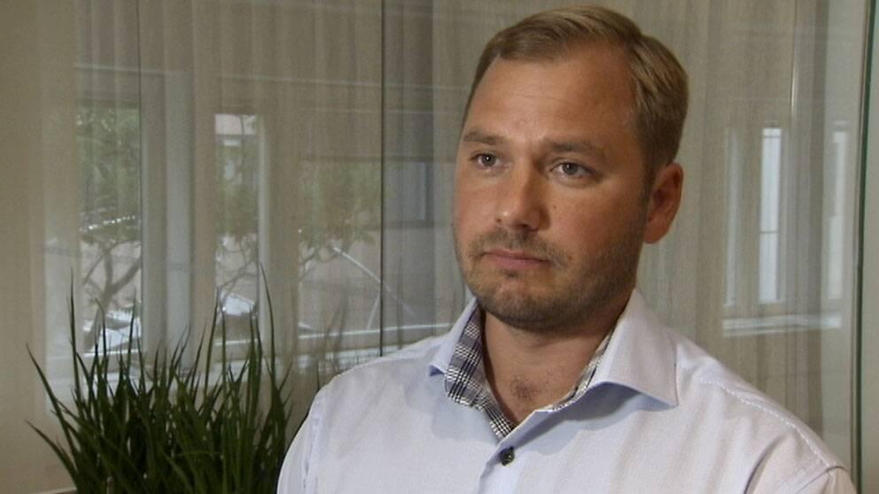 Martin Holmberg, VD StoraEnso Skog