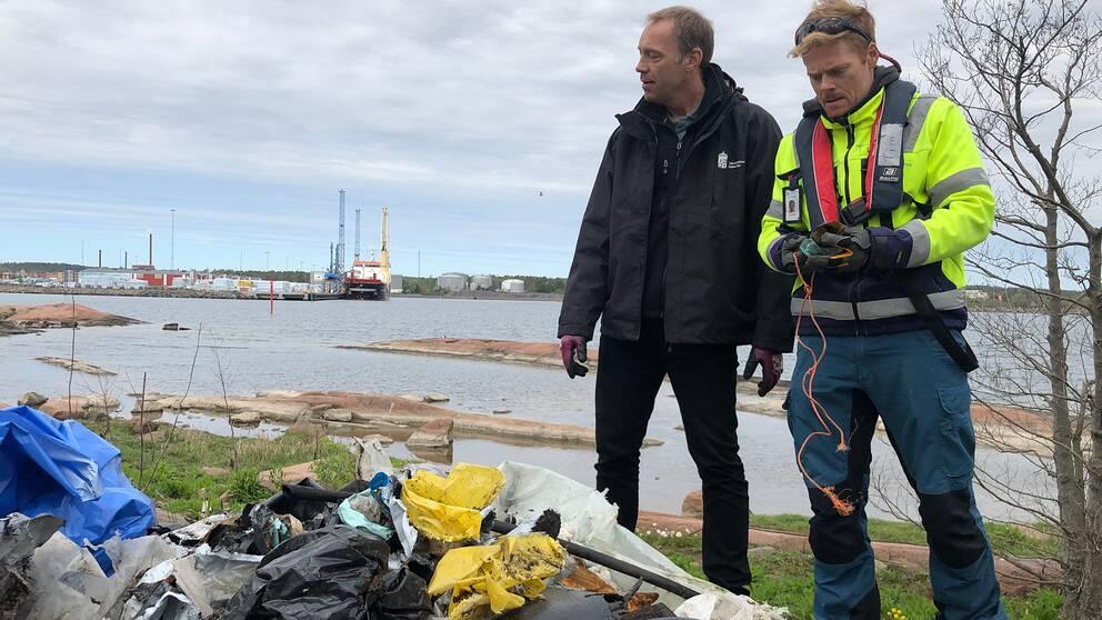 Henrik Linnarsson och Tim Ekstam