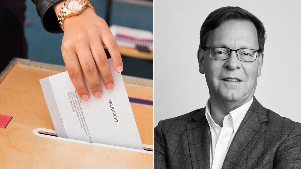 Lars Niklasson, forskare i statsvetenskap på Svenska institutet för Europapolitiska studier (SIEPS) och biträdande professor i statsvetenskap vid Linköpings universitet