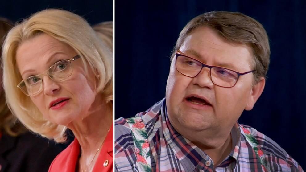 Heléne Fritzon och Peter Lundgren.