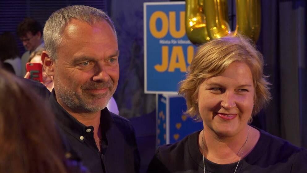Jan Björklund och Karin Karlsbro