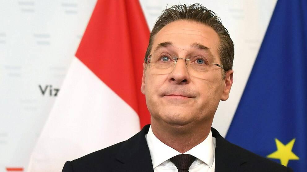 Österrikes vice-kansler Heinz-Christian Strache tvingades nyligen bort från sin post, men nu har han chansen att ta plat i EU-parlamentet