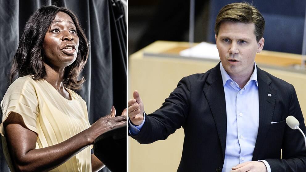 Nyamko Sabuni och Erik Ullenhag kandiderar båda till partiledarposten