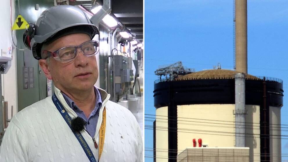 Lars Björnkvist är en av nyckelpersonerna som under 30 års tid drivit och utvecklat Ringhals reaktor 2 – nu förbereder han för nedläggningen.
