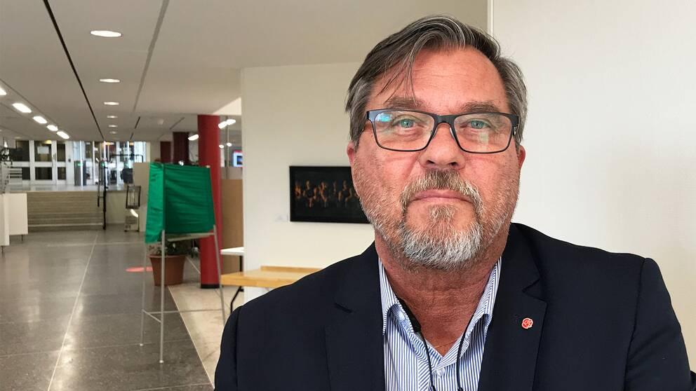 Porträtt på Näringslivsbolagets ordförande Anders Hedenius.