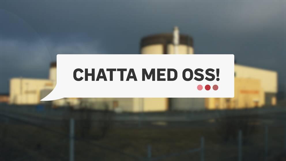 Chatt om avvecklingen på Ringhals kärnkraftverk