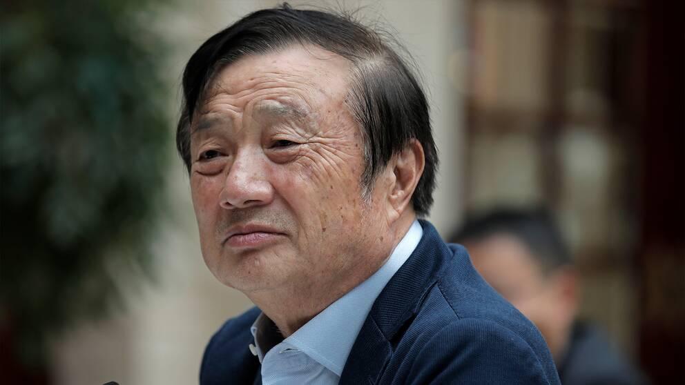 Huaweis grudnare och VD, Ren Zhengfei.
