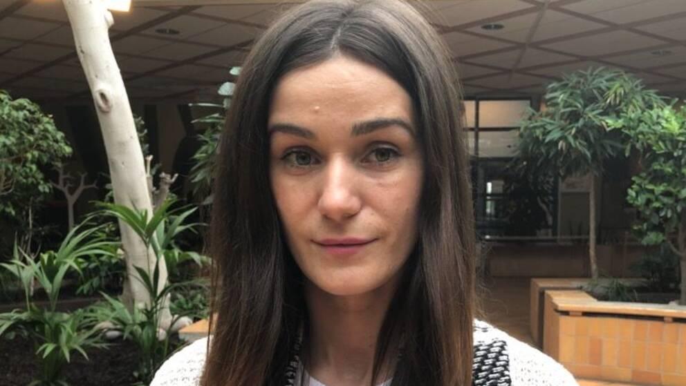 SVT:s reporter Amela Mahovic