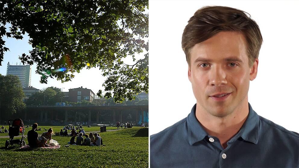 Nils Holmqvist ger långhelgens väderprognos.