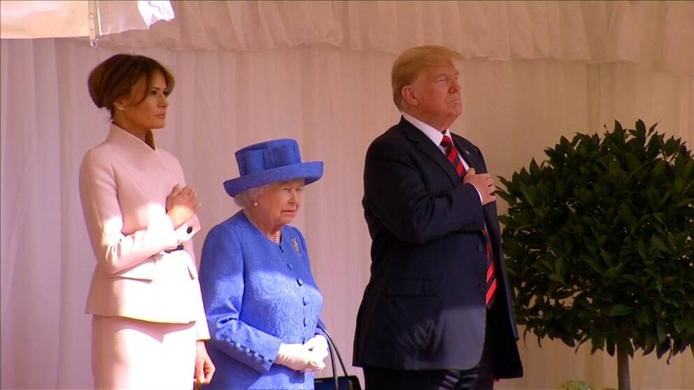 Melania, Elizabeth, Donald