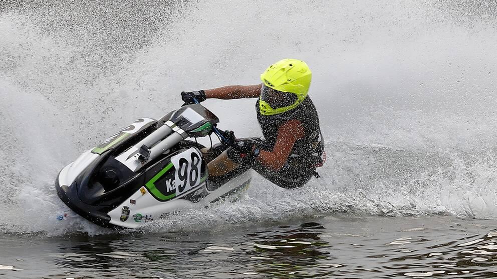 Succén fortsätter för Emma-Nellie Örtendahl i aquabike.