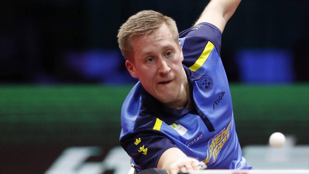 Sveriges Mattias Falck.