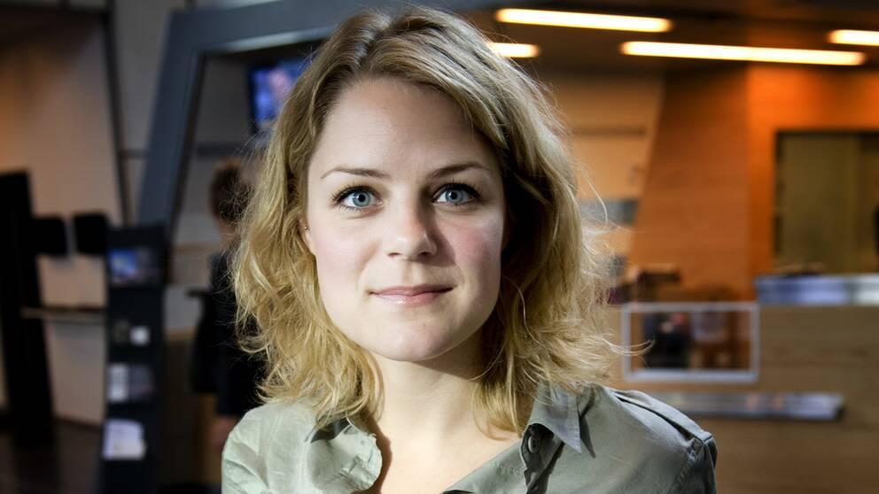 Johanne Schmidt Nielsen, en av Enhedslistens talespersoner. Efter valet går hon till ett nytt jobb som generalsekreterare på Rädda Barnen.