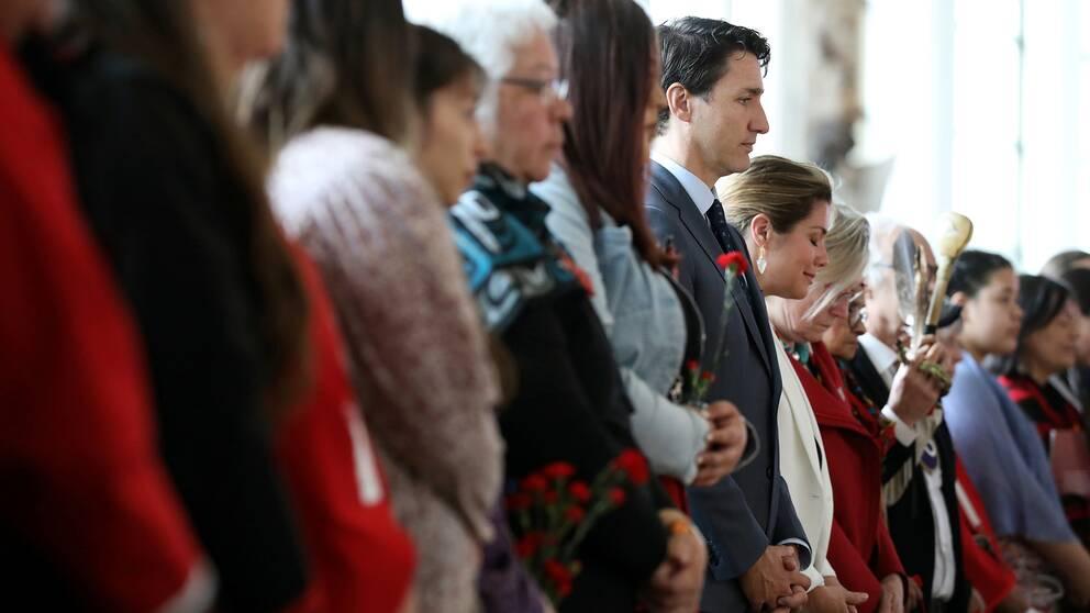 Kanadas premiärminister Justin Trudeau
