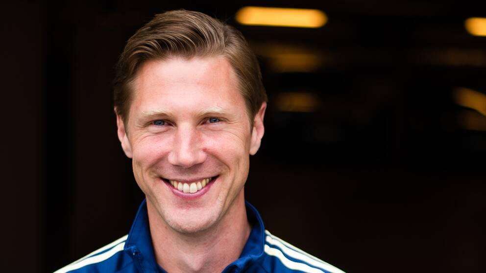 Rasmus Wallin Tornberg är spelarnas bollplank.