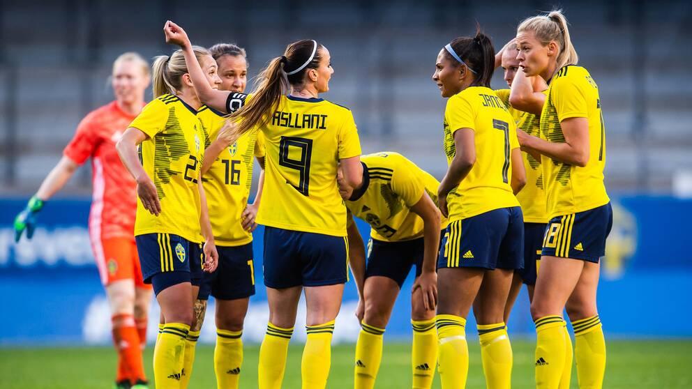 Sverige är med i VM i Frankrike.