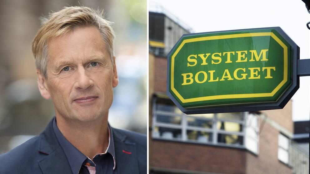 Lennart Agén är presschef på Systembolaget.