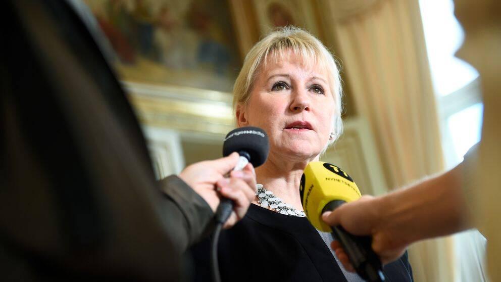 Utrikesminister Margot Wallström (S) är oroad över utvecklingen med kärnvapen.