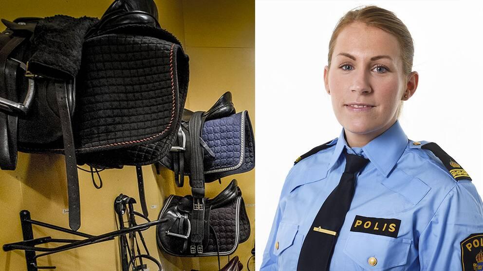 sadelkammare och åsa willsund polisens presstalesperson