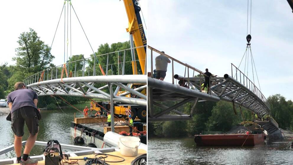 Bron över Djurgårdsbrunnsviken.
