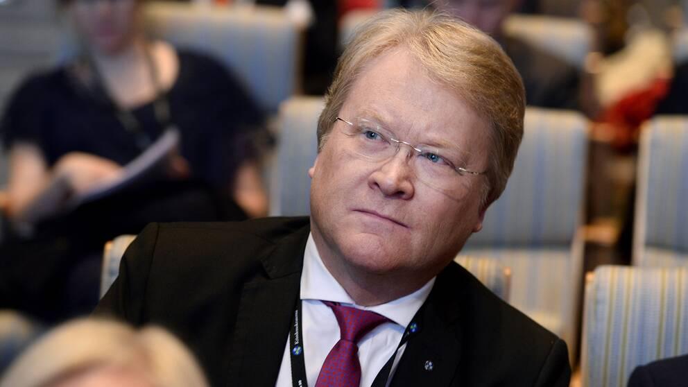 KD:s före detta EU-parlamentarikern Lars Adaktusson