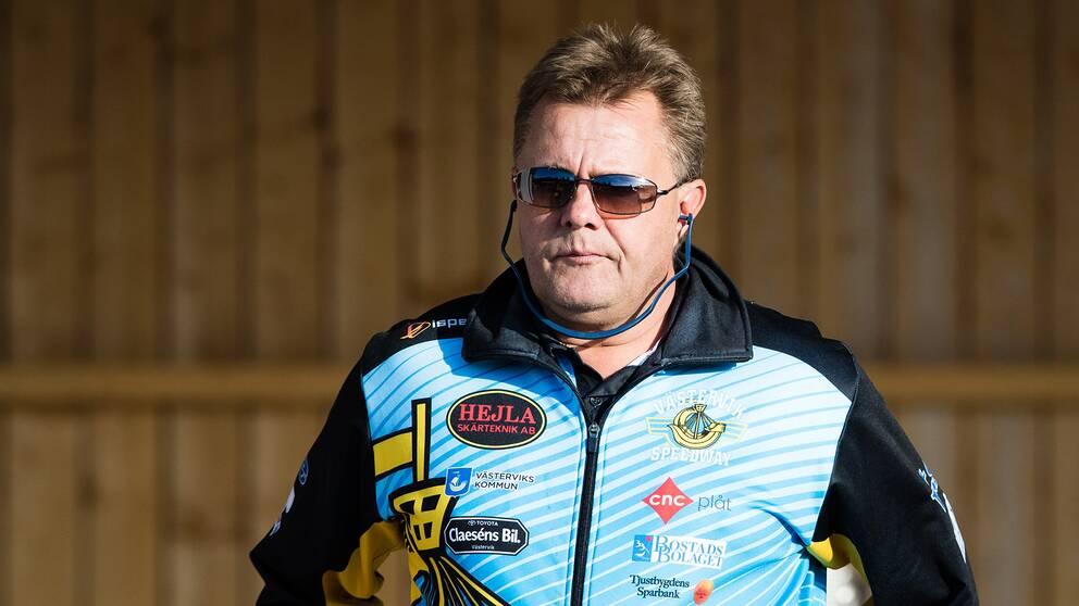 Västerviks sportchef Morgan Andersson
