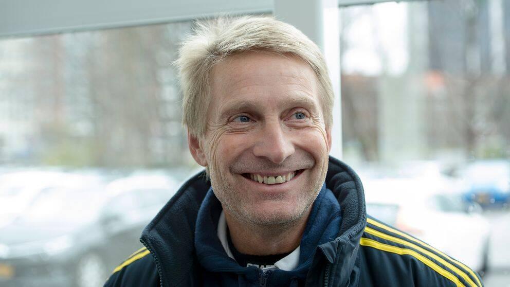 Thomas Dennerby var länge Sveriges förbundskapten. Nu basar han över VM-nationen Nigeria. Här syns han på bild under annat uppdrag för damlandslaget 2016.