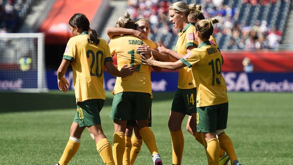 Bildresultat för australien fotboll damer