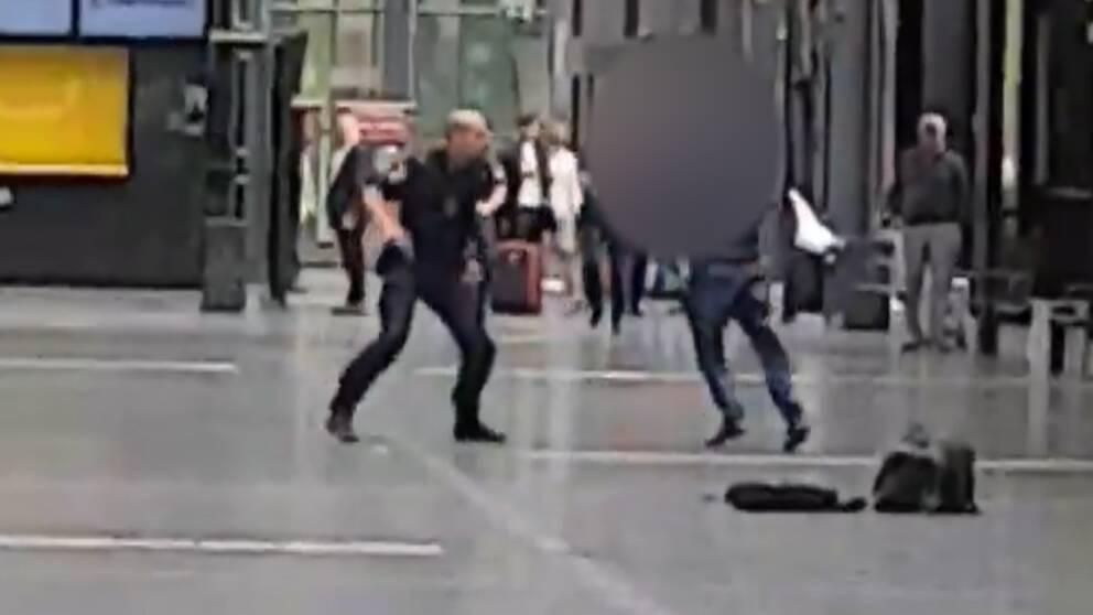 Polisen Har Identifierat Mannen Som Skots Pa Malmo C Svt Nyheter