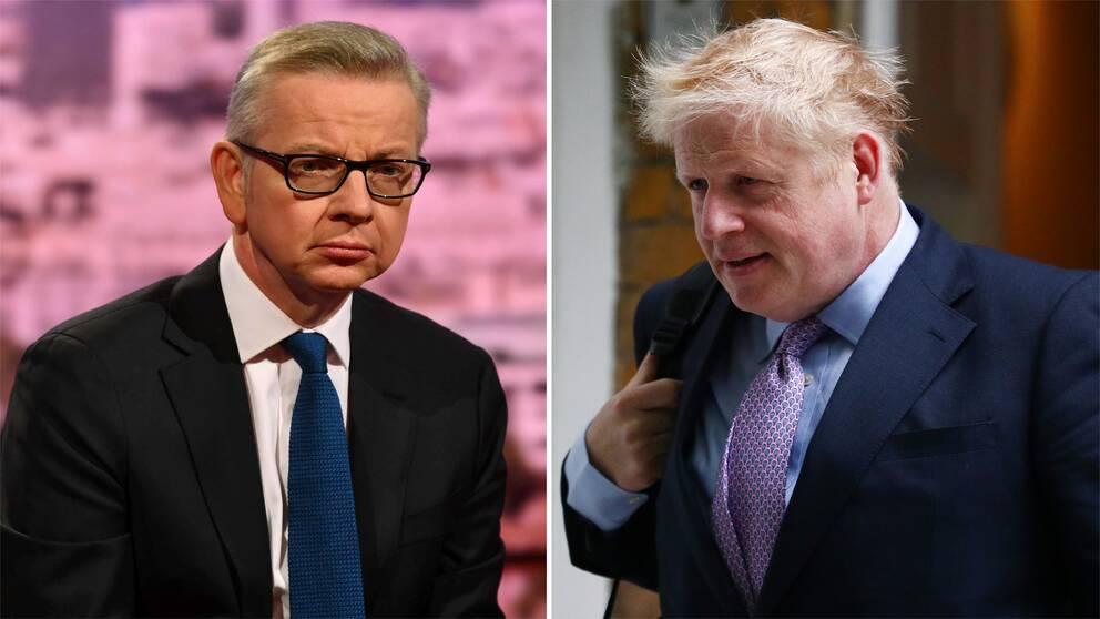 Michael Gove och Boris Johnson.