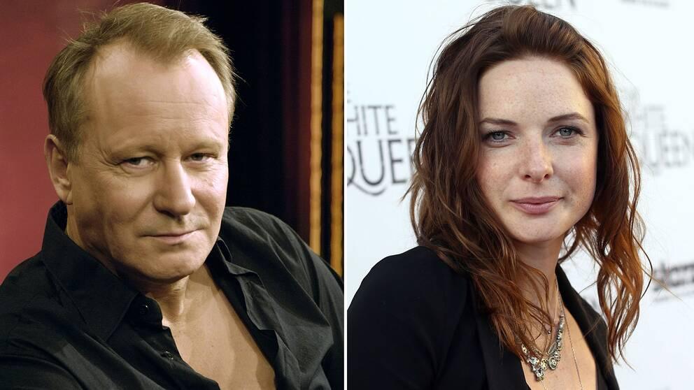 Svenskarna Stellan Skarsgård och Rebecca Ferguson medverkar i filmatiseringen av scifiromanen Dune.