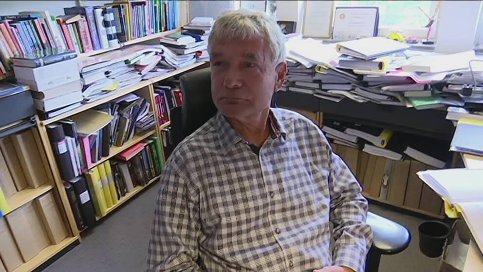 Lars Lindkvist, professor i organisation och ledarskap på Ekonomihögskolan vid Linnéuniversitetet i Kalmar.