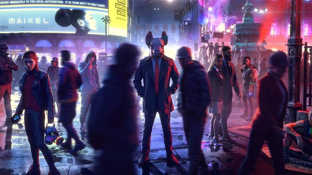 Maskerade hackers spelar huvudrollen i Watch dogs: Legion.