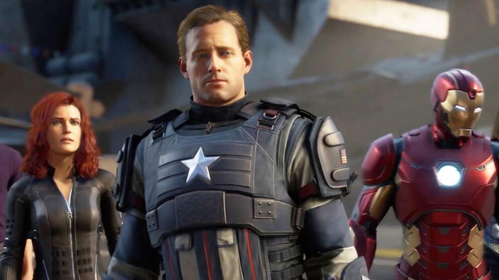 Black Widow, Captain America och Iron Man är några av de spelbara hjältarna i Avengers.