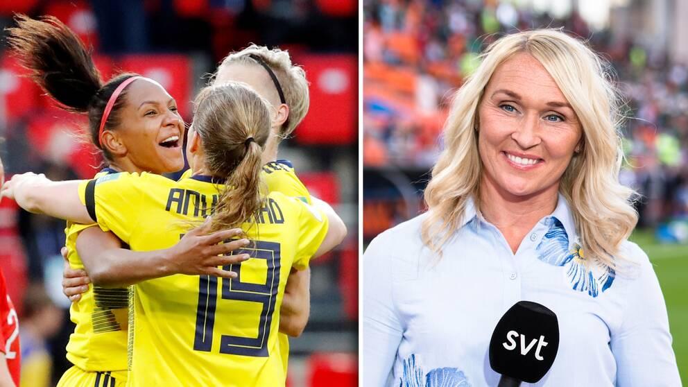 SVT:s expert Frida Östberg hyllar Madelen Janogy.