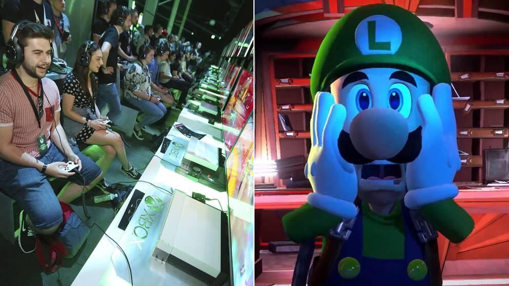 Xbox och Nintendo stod för den största närvaron när Sony och spelkonsolen Playstation för första gången uteblev från spelmässan E3 i Los Angeles.