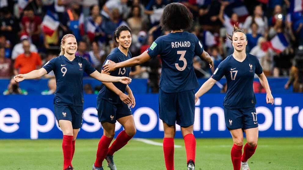 39579b19 Så var Frankrike-Norge – minut för minut | SVT Sport